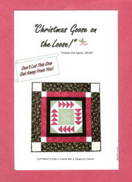 """Christmas Goose on the Loose!"" Pattern"