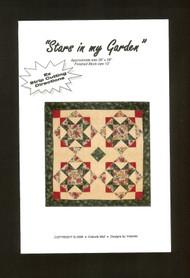"""""""Stars in my Garden"""" Pattern"""
