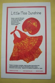 """Little Miss Sunshine"" Pattern"