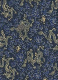 """Japanese Silk"" Blue"
