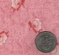 "Red Rooster ""Elm Creek Quilts"" Pink"
