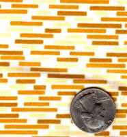 "Springs Industries ""Bricks"" Yellow"