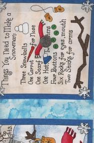 "Studio E ""Build A Snowman"" Book"