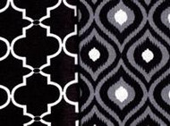 Springs Black Half Yard Bundle (2 half yard cuts)