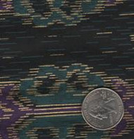 Fashion Fabrics Pine/Purple Yardage