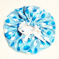 Blue Moon Reversible Satin Bonnet