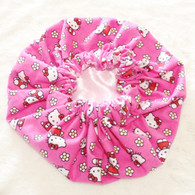 Hello Kitty Satin Bonnet