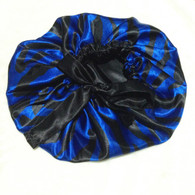 Ocean Swirl Reversible Satin Bonnet