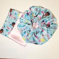 Doc Mcstuffins Sunshine Satin Bonnet and Pillowcase Set