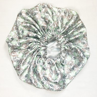 Scribble Reversible Satin Bonnet