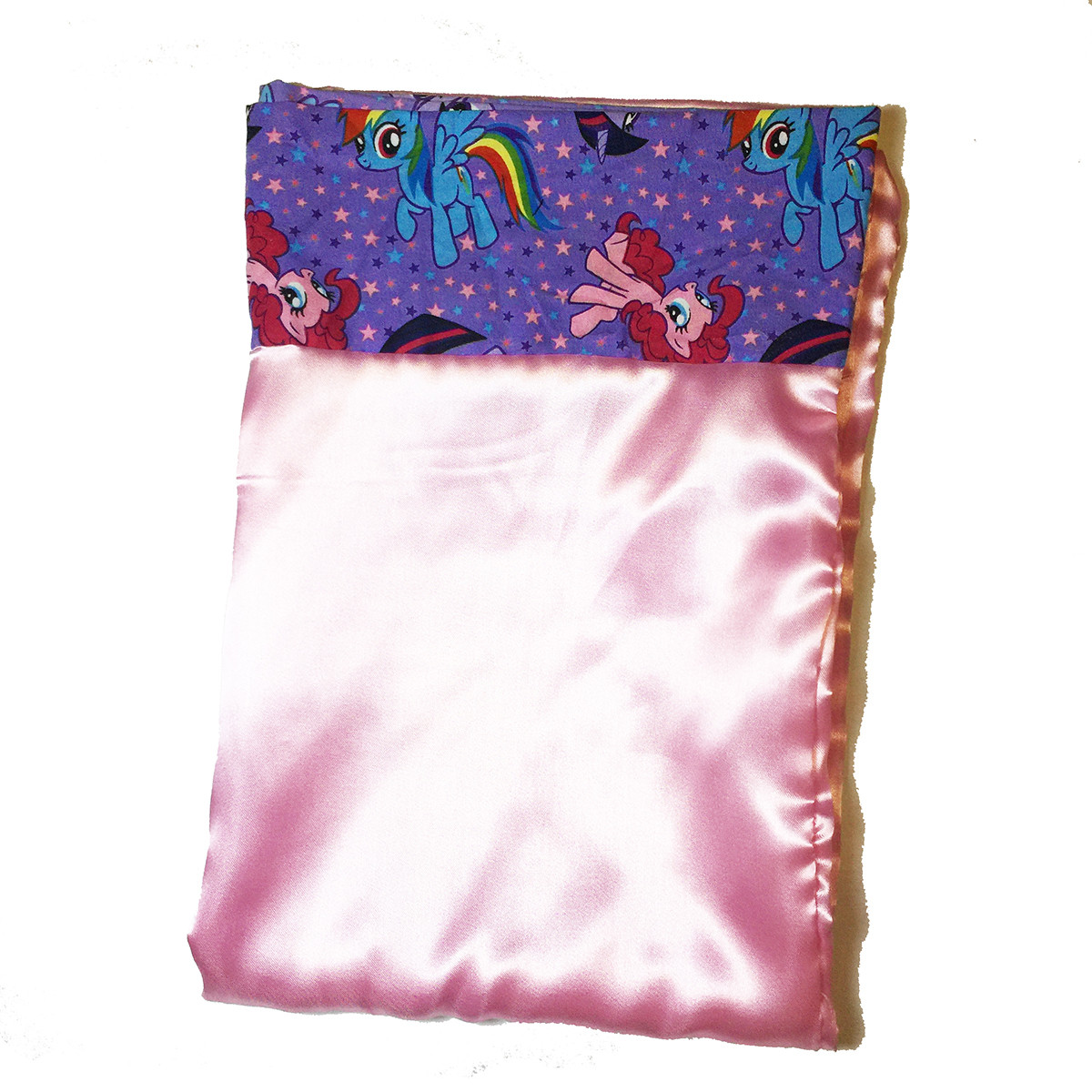 Satin Pillowcase Prevent Hair Loss: Pinky Pie Pony Satin Pillowcase