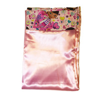 Doc McStuffins Pink Hearts Satin Pillowcase