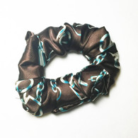 Paris Satin Scrunchie