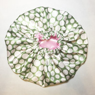 Watermelon Reversible Satin Bonnet