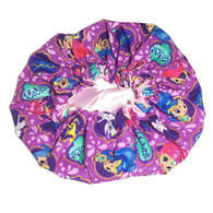 Shimmer and Shine Satin Bonnet