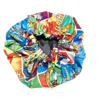 Superhero Satin Sleep Cap