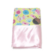 Doc McStuffins Lime Satin Pillowcase