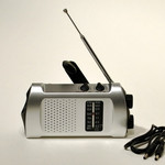 Emergency Crank AM/FM Radio -also charges your cell phone