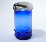 Cobalt Blue Glass Sugar Pourer