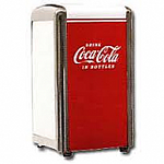 Coca Cola Napkin Holder - plus 250 napkins