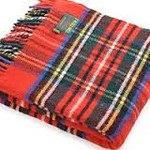 Plaid Wool Blanket