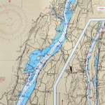 Waterproof Chart Hudson River