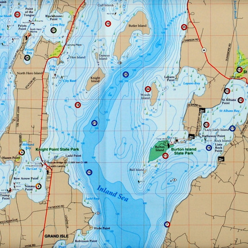 Lake Champlain Fishing Hot Spots