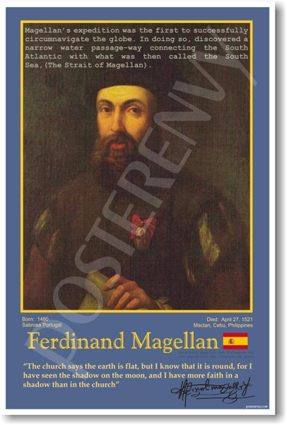 ferdinand magellan essay Ferdinand magellan essay, research paper ferdinand magellan was born in 1480, in a stone farm house in portugal his father's name was dom ruy magellan, and his.