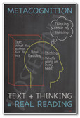 Metacognition - NEW Classroom Reading and Writing Poster