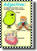 Adjective - Language Arts Classroom Poster