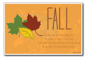 Fall - NEW Seasonal Classroom Poster