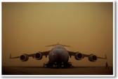 C-17 Globemaster III Aircraft - NEW Military US Air Force Army Navy POSTER