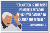 Nelson Mandela - NEW Famous Person Poster