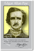 comparing and contrasting edgar allan poe and ernest hemingway Invictus by william ernest henley   edgar allan poe if rudyard kipling stopping by woods on a snowy evening robert frost i do not love you except because i.