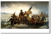 Washington Crossing The Delaware - NEW Fine Arts Poster