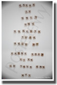 Scrabble tiles - There Is Only One Success - Christopher Morley - NEW Classroom Motivational PosterEnvy Poster