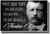 Keep Your Eyes On The Stars - NEW Classroom Motivational Poster