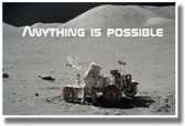 Anything Is Possible - NEW Classroom Motivational Poster