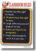 Classroom Rules - Customize Me for FREE!