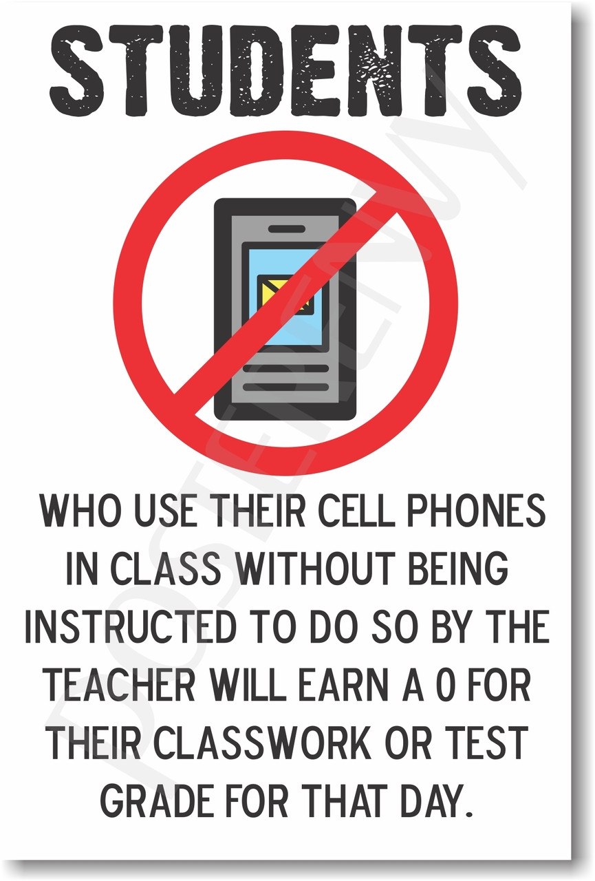 Students Who Use Their Cell Phones In Class New