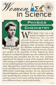 Marie Curie - High School - Poster Print Gift