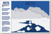 Arctic - NEW World Habitat Ecosystems Poster (ms266)