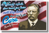 Nobody Cares How Much You Know - Theodore Roosevelt - NEW Classroom Motivational Poster (fp327)