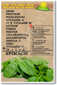 Sum of Spinach - NEW Health and Nutrition Poster (he044)