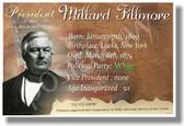 Presidential Series - U.S. President Millard Fillmore - New Social Studies Poster (fp352) American History PosterEnvy