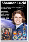 Shannon Lucid - NEW NASA American Woman Female Women Astronaut Space Poster (fp375) PosterEnvy