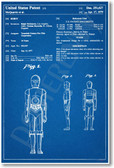 Star Wars - C3PO Patent - NEW Famous Invention Patent Poster (fa141) PosterEnvy