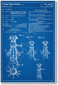 Star Wars - Health Droid Patent - NEW Famous Invention Patent Poster (fa145)