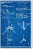 Star Wars - Imperial Shuttle Patent - NEW Famous Invention Patent Poster (fa147) PosterEnvy