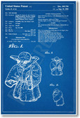 Star Wars - Yoda Patent - NEW Famous Invention Patent Poster (fa166) Film Movie PosterEnvy